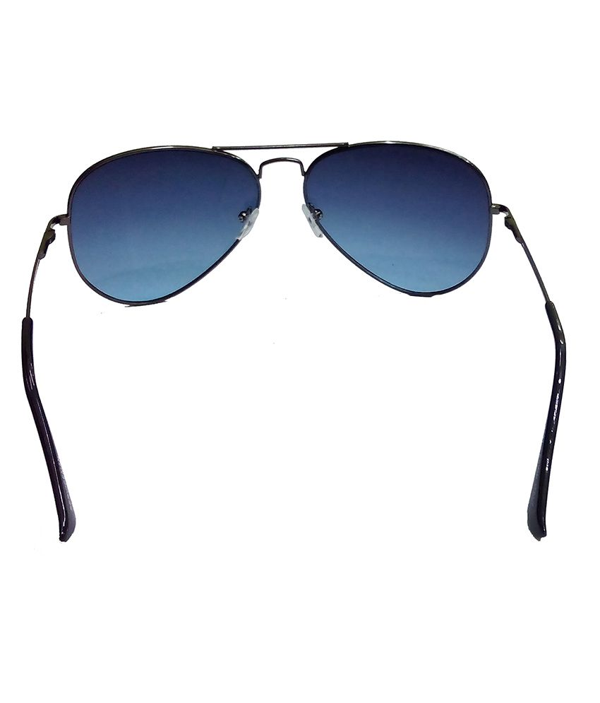 a0c6d07e56 ... Hrinkar Aviator Sunglasses Black Frame Dark Blue Lens with Night Riding  Black Frame Yellow Lens and ...