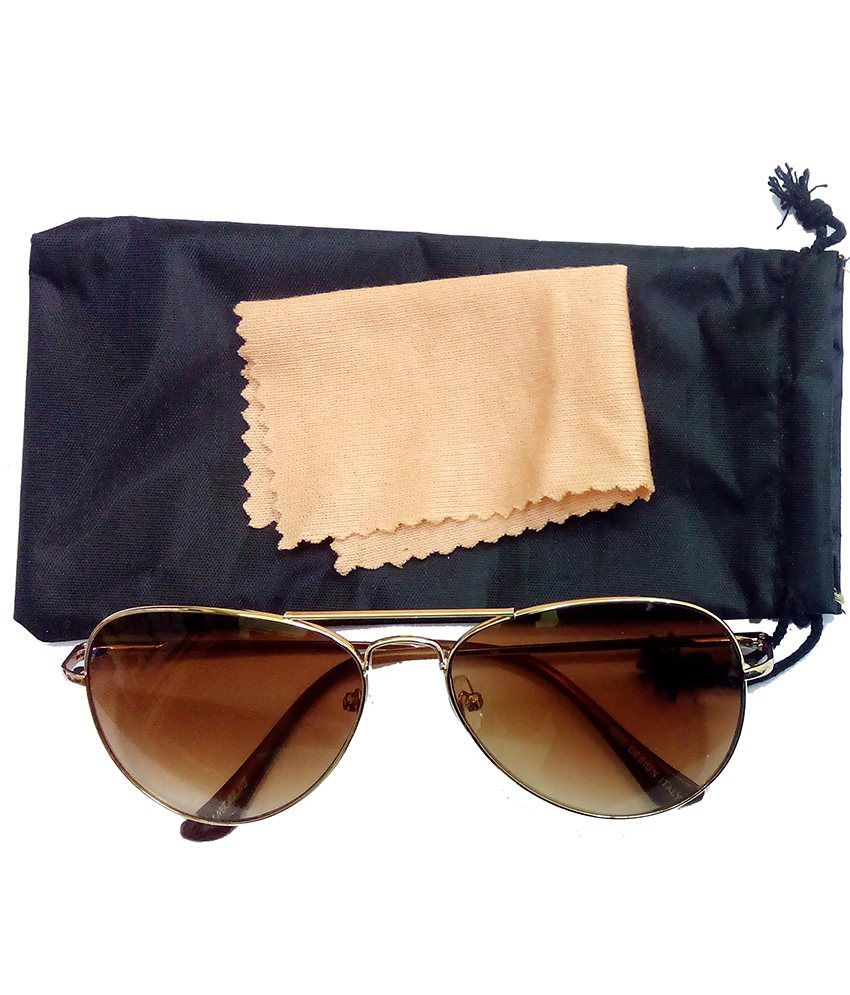 brown lens aviator sunglasses  Hrinkar Aviator Sunglasses Brown Frame Brown Lens with Aviator ...