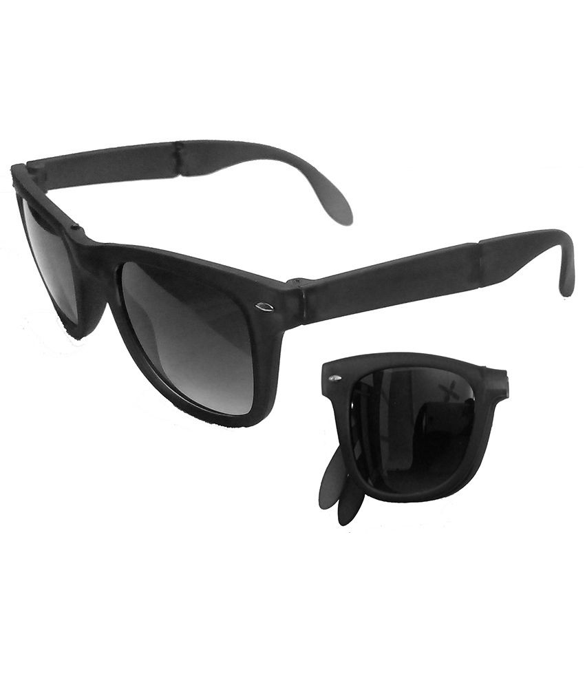 Hrinkar - Black Square Sunglasses ( )