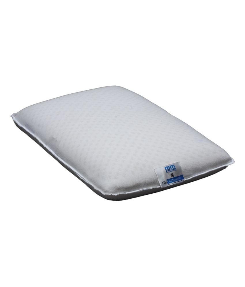mm foam white life companion latex pincore pillows buy mm foam