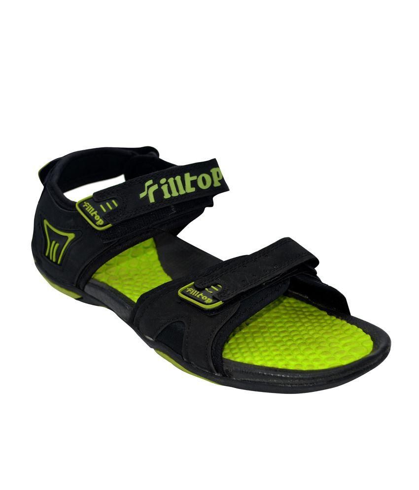 558de7da7d7 Fliptop Green Faux Leather Daily wear Men Sandals Price in India- Buy  Fliptop Green Faux Leather Daily wear Men Sandals Online at Snapdeal