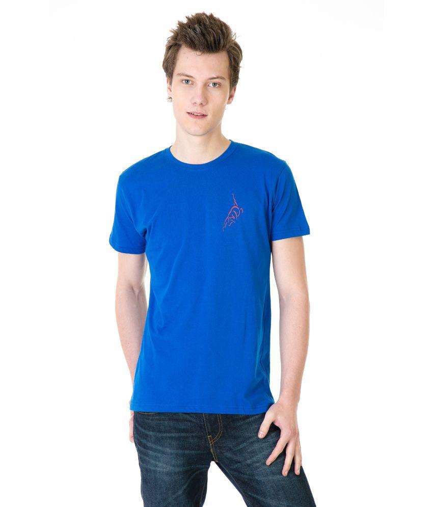 Posh 7 R.Blue Small Bowler Cricket T Shirt