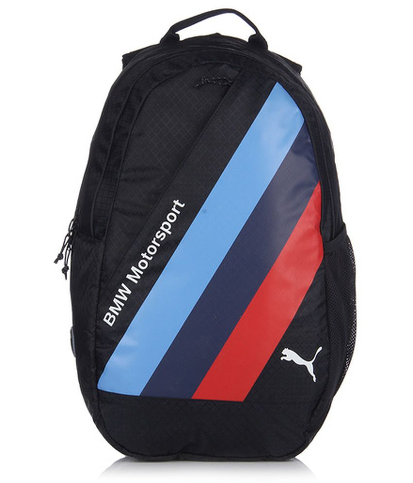 5ba15d2f736 Puma BMW Blue Backpack - Buy Puma BMW Blue Backpack Online at Best Prices  in India on Snapdeal