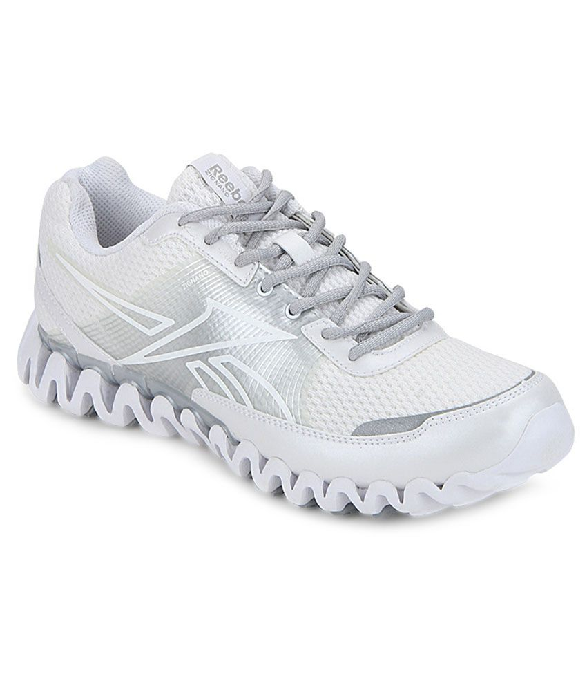 3bc20394c8869 Reebok White Sport Shoes - Buy Reebok White Sport Shoes Online at Best  Prices in India on Snapdeal