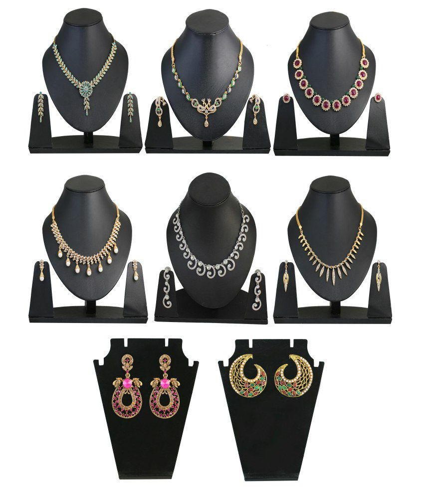 Touchstone Spectacular Style Diva Necklace Set Combo