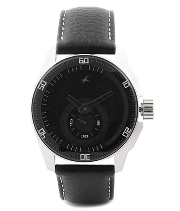 fastrack black magic ng3089sl04 men u0026 39 s watch