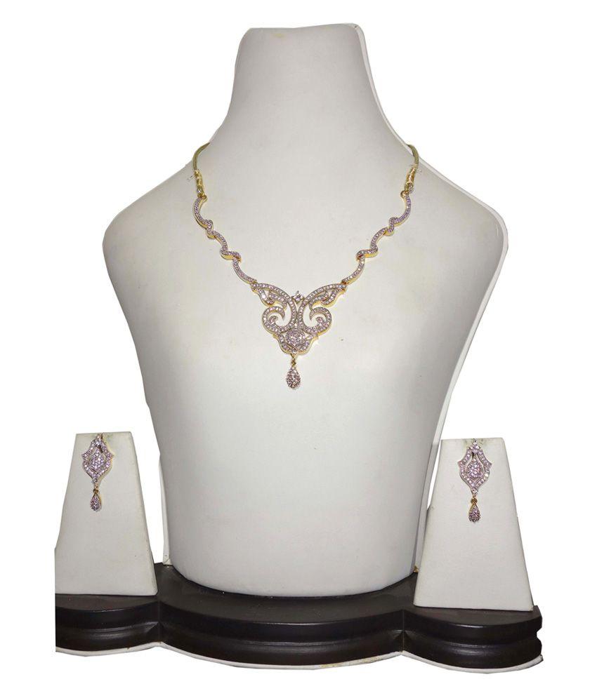 Anjan Antique Designer Necklace Set