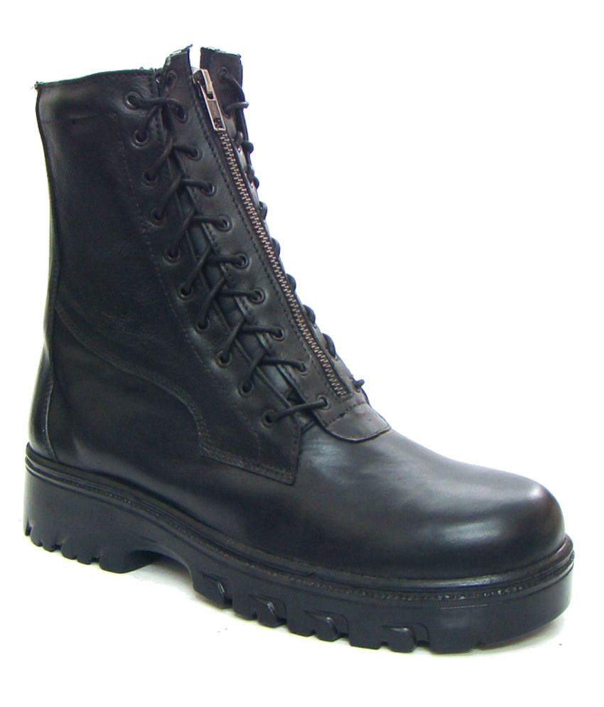 ASM Pure Leather Lightweight Flying Boots for Pilots