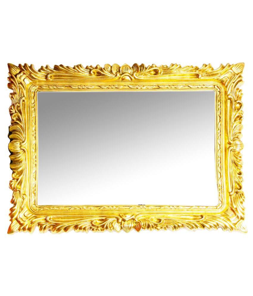 Elegant Arts & Frames Gold Resin Antique Decorative Mirror Frame ...