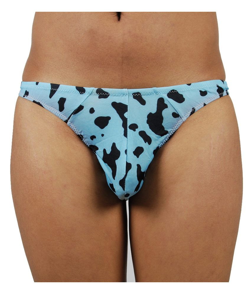 0d279e65c Gwyn Lingerie Blue Print Men Thong Underwear - Buy Gwyn Lingerie Blue Print Men  Thong Underwear Online at Low Price in India - Snapdeal