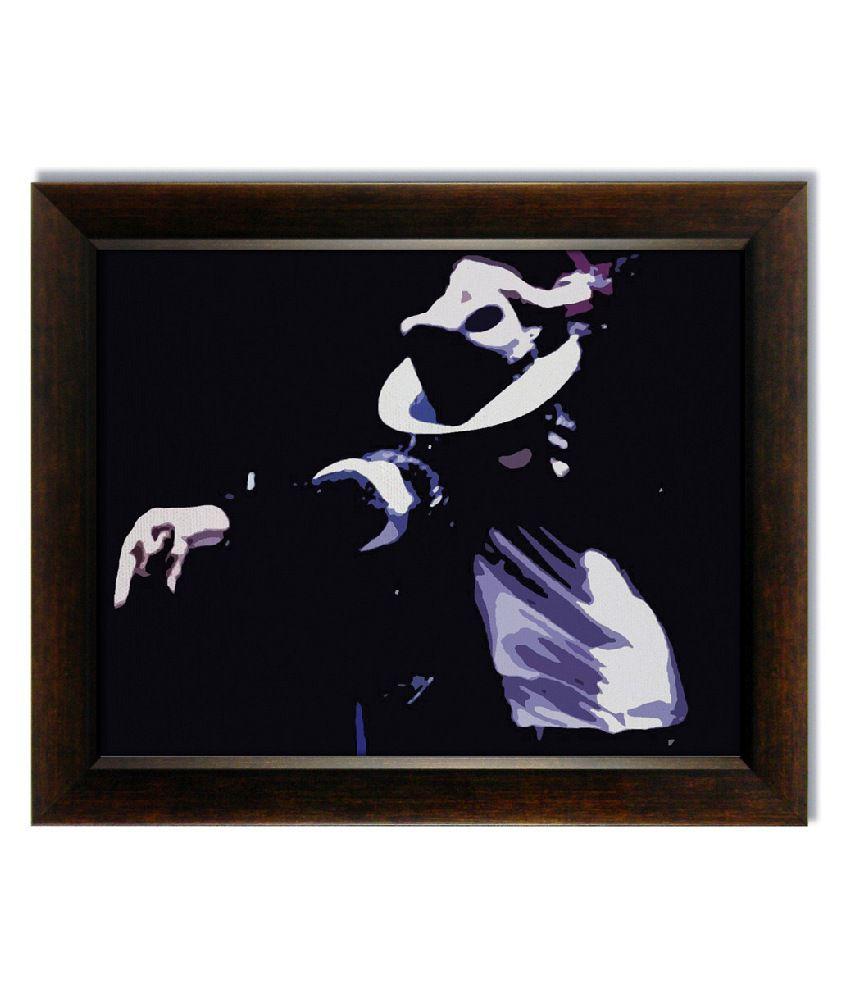 Stybuzz Michael Jackson Dance Frameless Canvas Painting