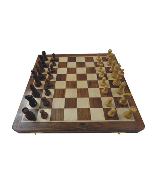 Wasan Chopra Non Magnetic Big 14 Inch Chess Board