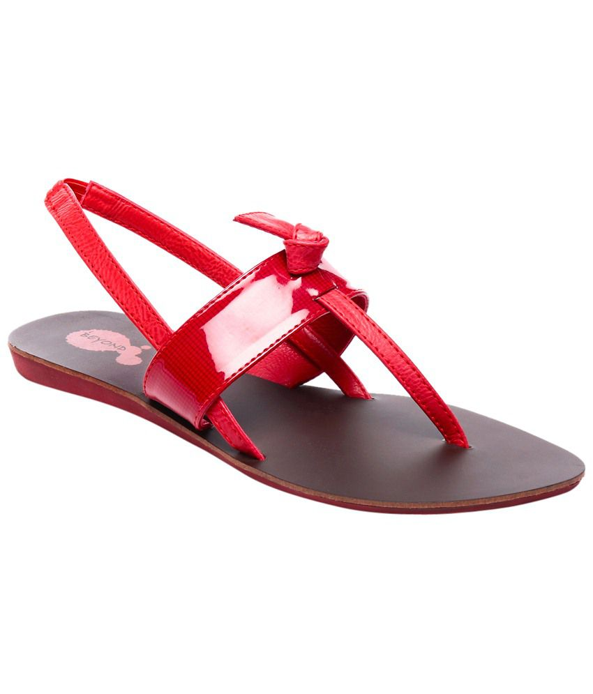 Beyond Attractive Red Sandals