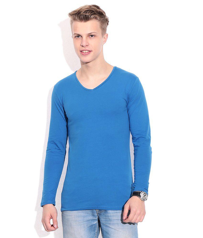 Franco Leone Blue T-shirt