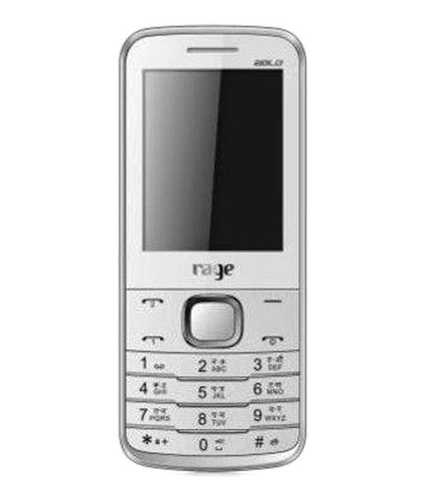 Rage Bold 2403 Mobile Phone White&Green