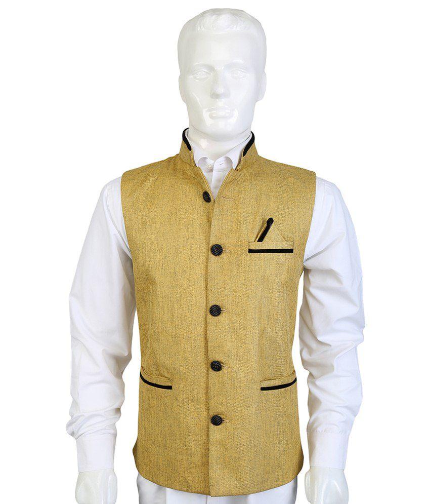 Selfieseven Gold Waistcoat
