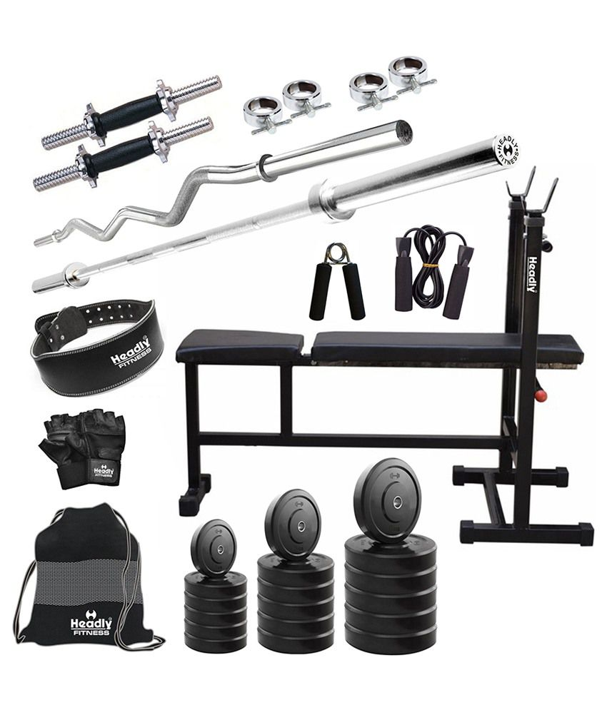 Headly kg convenient home gym quot dumbbells in i