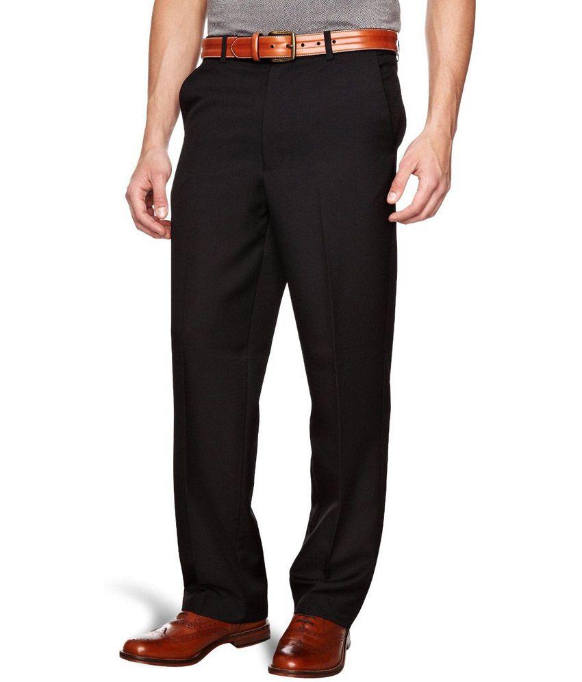 Siyaram Black Poly Blend Self Design Formal Unstiched Pant Piece - Buy Siyaram Black Poly Blend ...