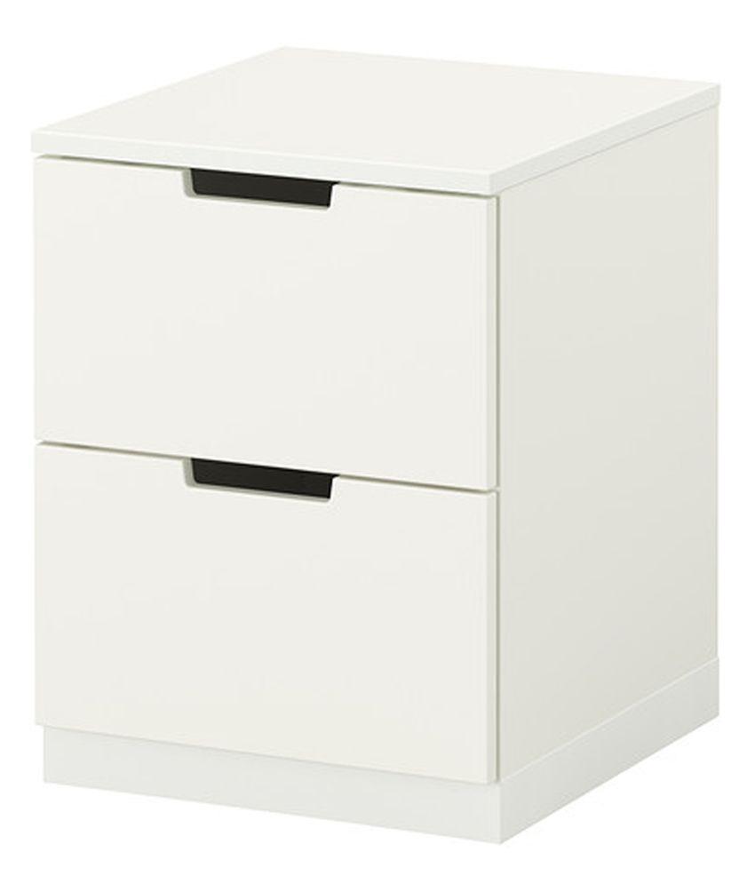 Westido White Compressed Wood Nightstands Buy Westido