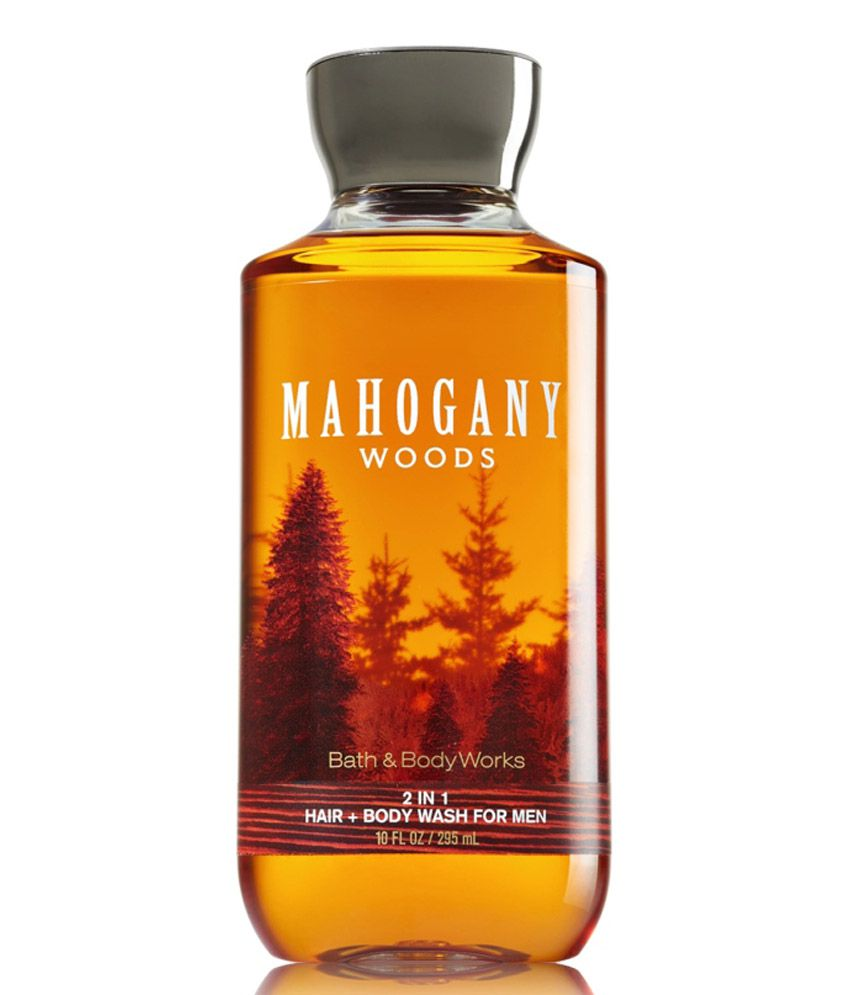Bath And Body Works Mahogany Woods Shower Gel For Men 295ml: Buy Bath ...