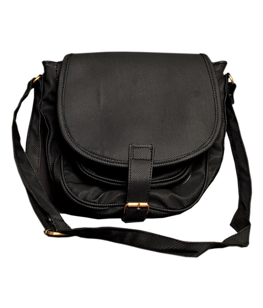 Innovative Creations Black Sling Bag - Buy Innovative Creations ...