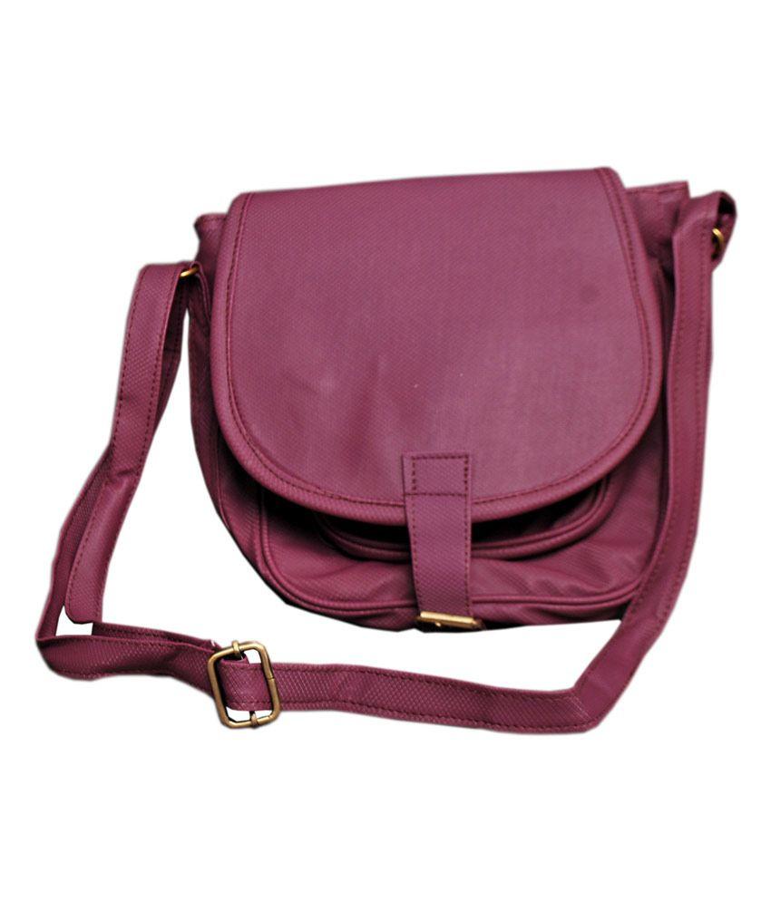 Innovative Creations Purple Sling Bag