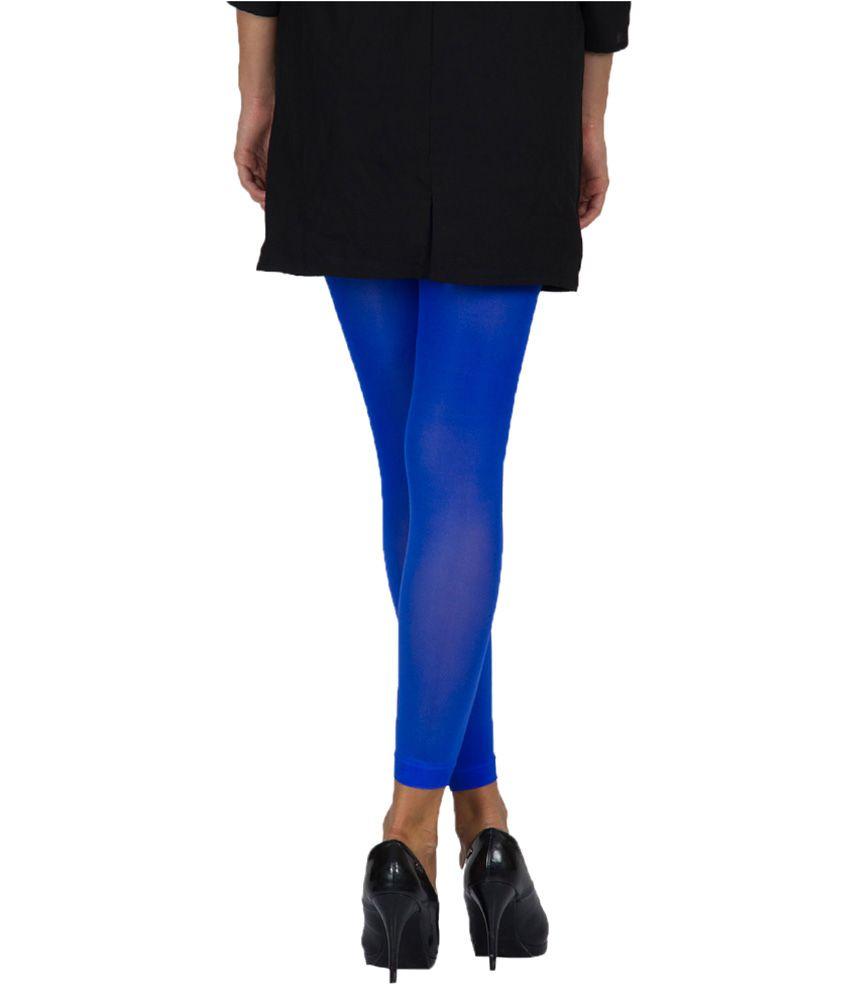 golden velvety soft royal blue ankle free stockings buy