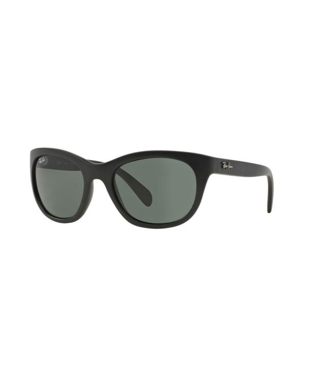 eb57ca8a41 Ray-Ban RB4216 601S71 Square Black   Green Sunglasses - Buy Ray-Ban RB4216  601S71 Square Black   Green Sunglasses Online at Low Price - Snapdeal