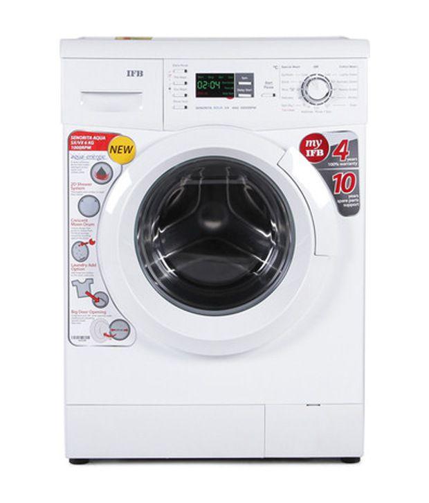 Ifb Senorita Aqua Vx Front Load 6 0 Kg Washing Machine