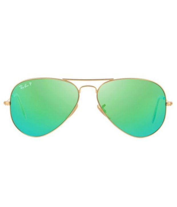 buy aviator sunglasses online  Ray-Ban RB3025 112/P9 ORIGINAL AVIATOR Gold / Green Polarized ...