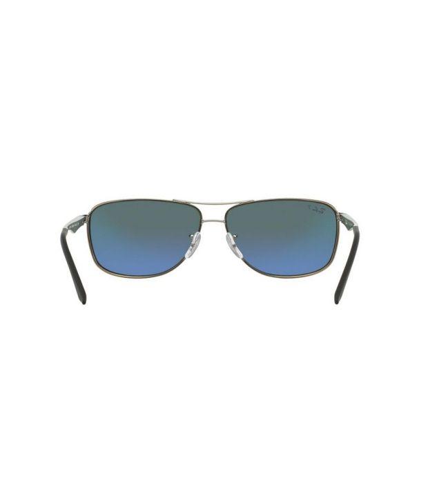 0431b4f972 Ray-Ban RB3506 029 9A Aviator Gunmetal   Green Sunglasses - Buy Ray ...