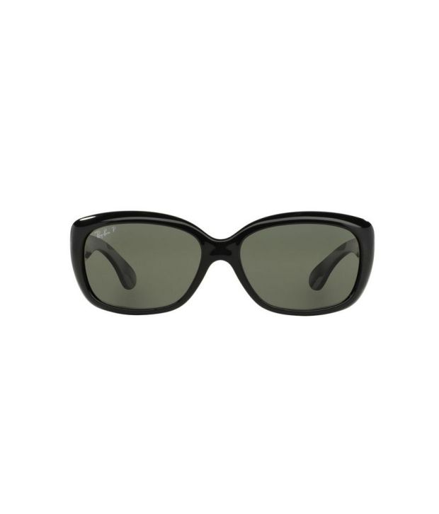 Ray-Ban RB4101 601 58 JACKIE OHH Black   Green Sunglasses - Buy Ray ... 4cd1fec39898