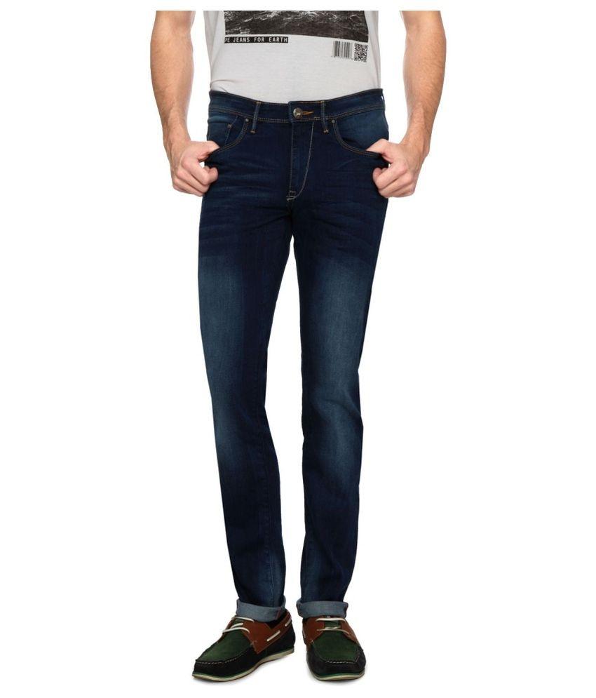 Solly Jeans Dark Indigo Skinny Jeans