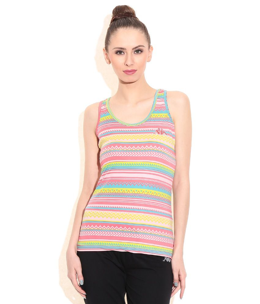Kappa Multi Color Printed Top