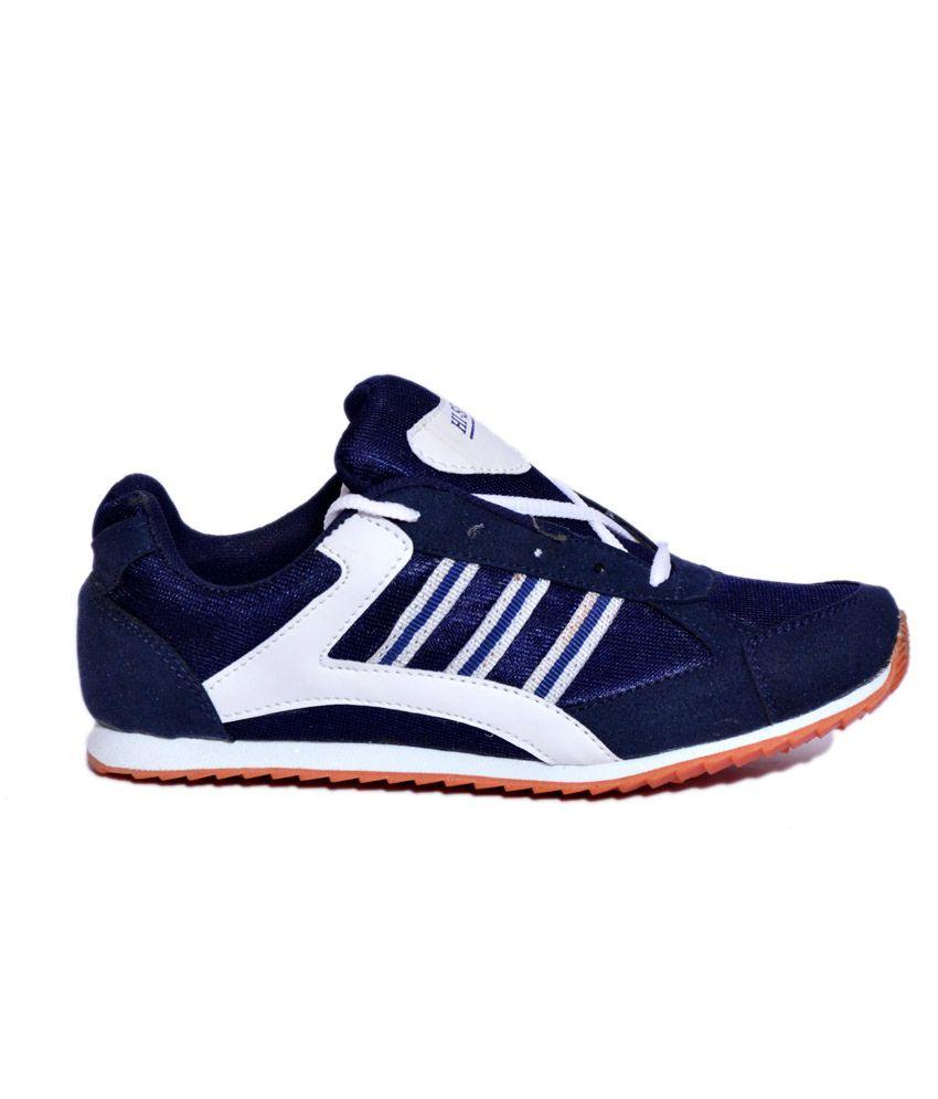 Hi-speed Blue Sport Shoes - Buy Hi
