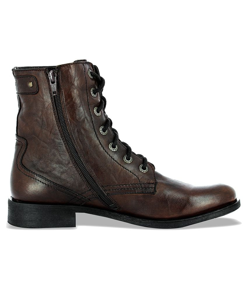 74a9be1144c Alberto Torresi Brown Boots