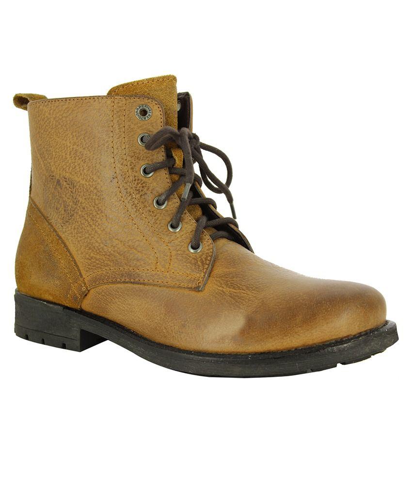 Alberto Torresi Tan Boots