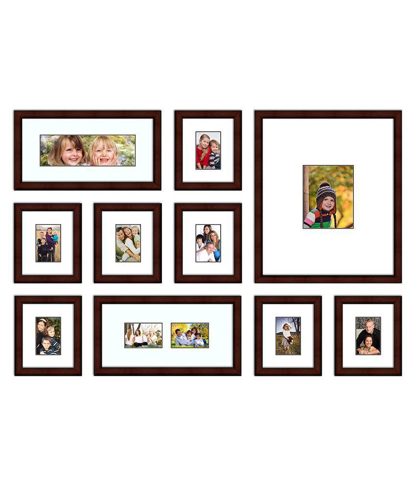 Elegant Arts & Frames Wall Collage Frames With 4 Elegant Stretcher ...