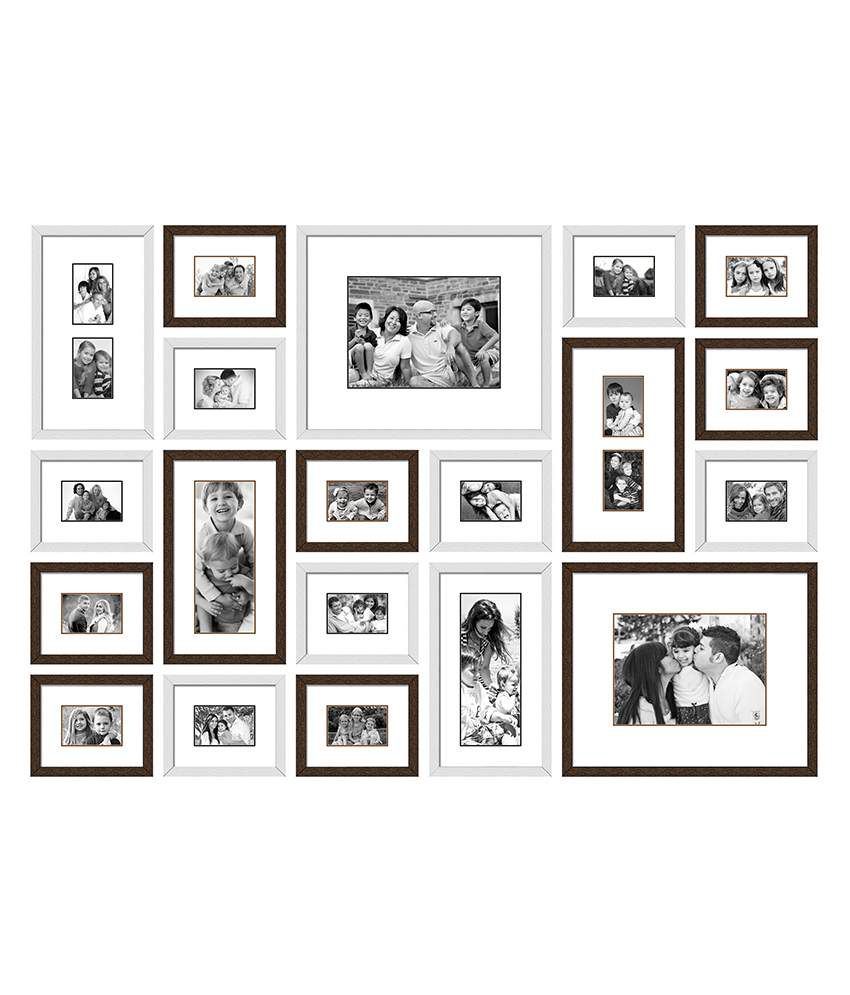 Wall Collage Picture Frames white multi photo frames wall - all the best frames in 2017