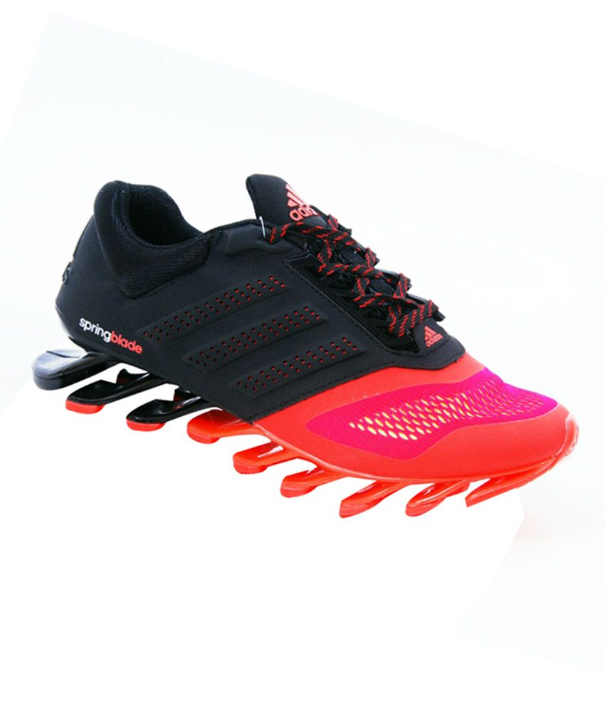 1345977d6960 Adidas Spring Blade Black And Red Imported Sports Shoes - Buy Adidas Spring  Blade Black And Red Imported Sports Shoes Online at Best Prices in India on  ...