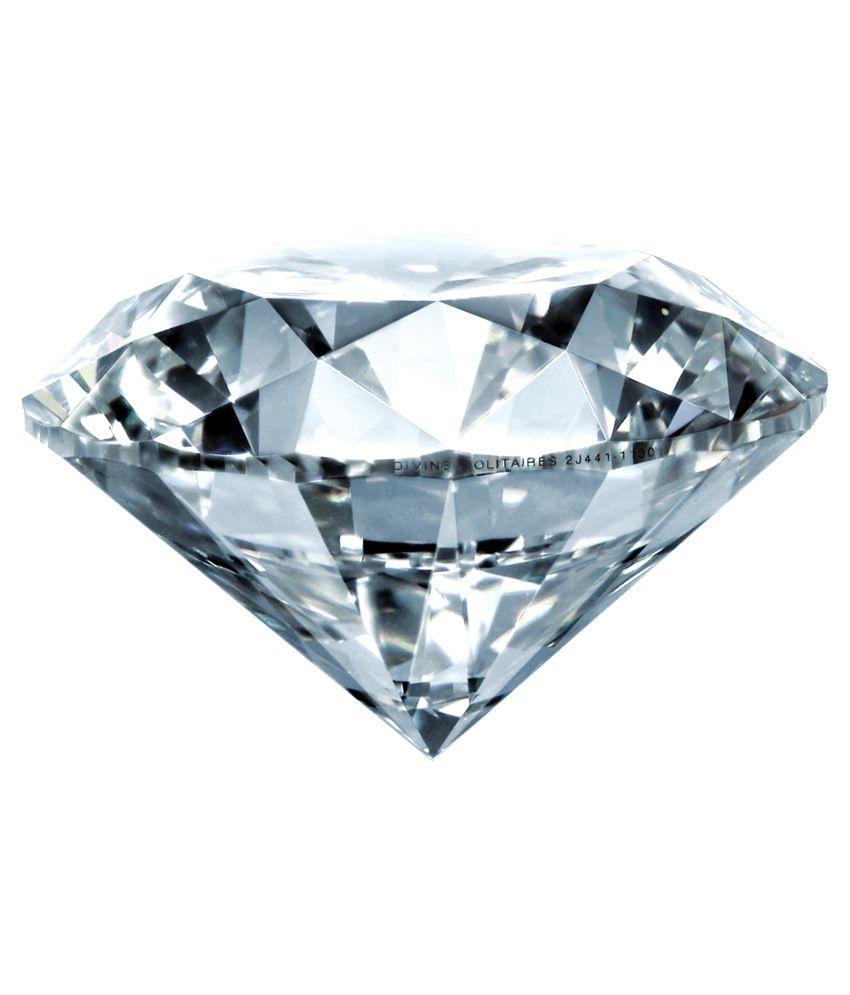Divine Solitaires 0.24 Ct Vvs2 Loose Diamond