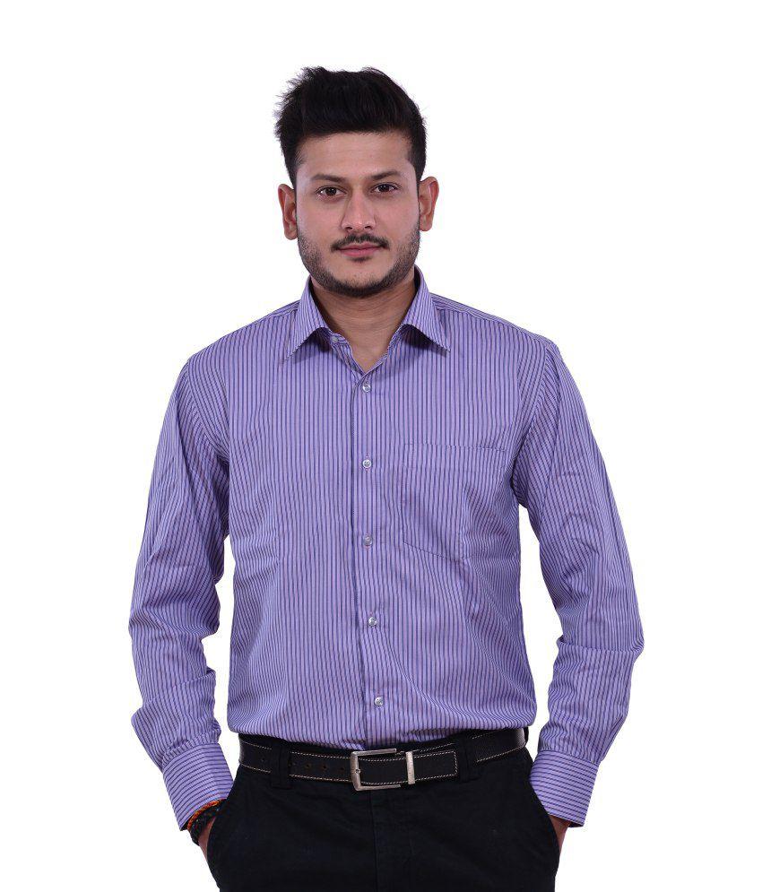 Dennison Blue Mens Formal Shirt