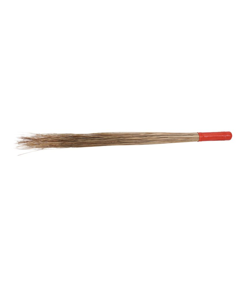 Hari Ram Gulab Rai Hari Ram Gulab Rai Coconut Stick Plastic Handle Broom