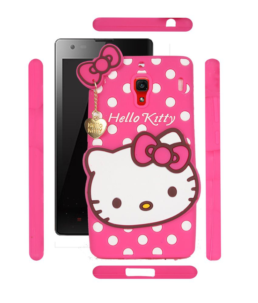 bbb11703d Fuson Premium Hello Kitty Girly Designer Soft Silicon Back Case Cover For  Xiaomi Redmi 1s - Pink - Printed Back Covers Online at Low Prices |  Snapdeal India