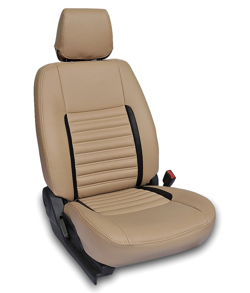 Hyundai Xcent Car Seat Covers In Automotive Grade Leatherette