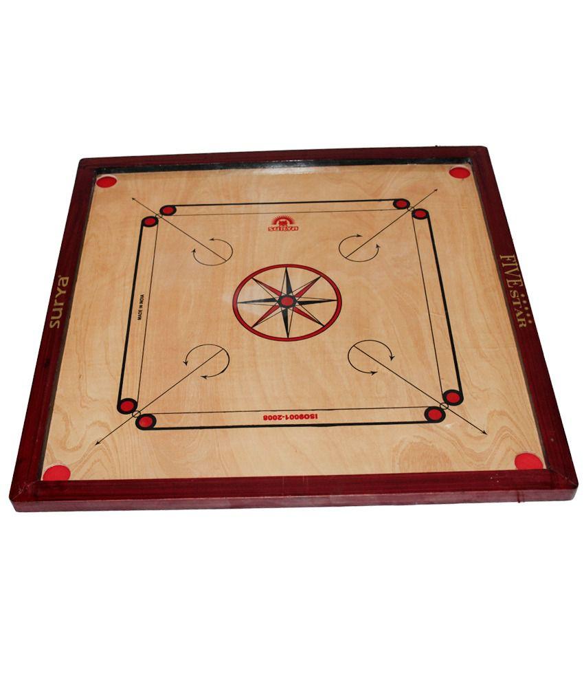 Surya Medium Sized Willow Carom Board