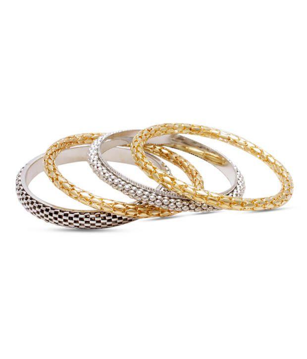 Viral Gems Gold Bangles