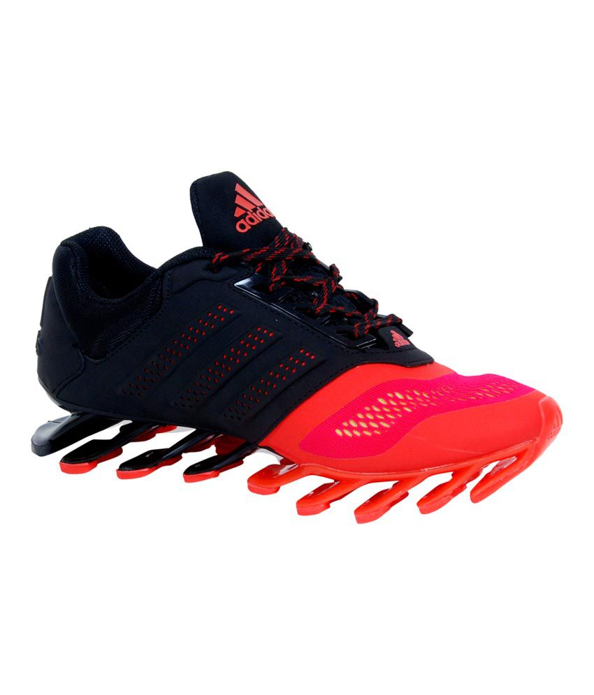 sale retailer 99566 755a7 Adidas Spring Blade 2015 Red And Black Sports Shoes - Buy Adidas Spring  Blade 2015 Red And Black Sports Shoes Online at Best Prices in India on  Snapdeal