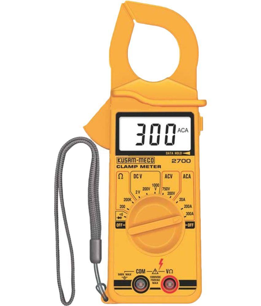 Using Digital Clamp Meter : Kusam meco digital clamp meter make buy