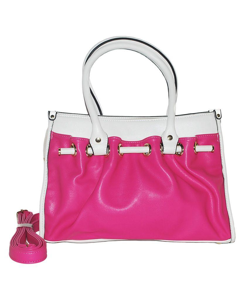 ladies handbags pink - photo #8